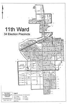3rd Ward Chicago Map.11th Ward Chicago